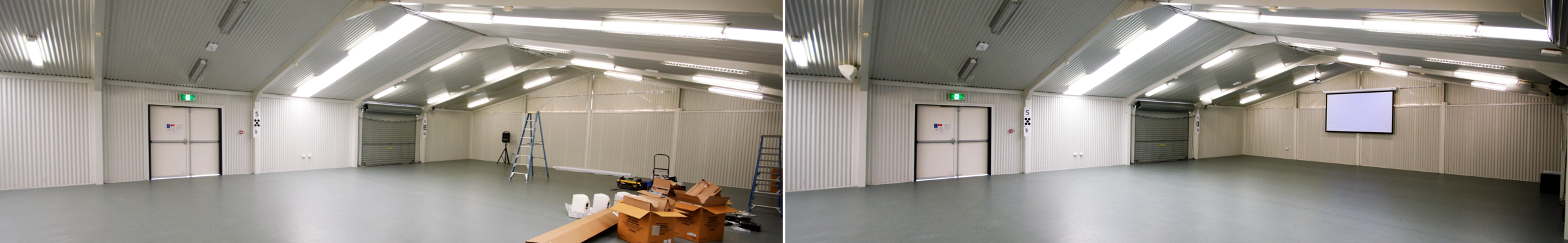 Western Suburbs Special School - Hall AV Before / After